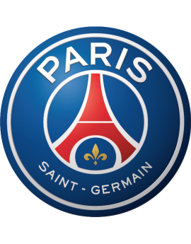 Stickers logo foot PSG
