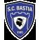 Stickers logo foot Bastia