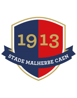 Stickers logo foot  Stade Malherbe Caen
