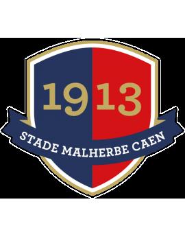 Stickers logo foot  Stade Malherbe Caen