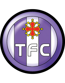 Stickers logo foot  TFC Toulouse football club