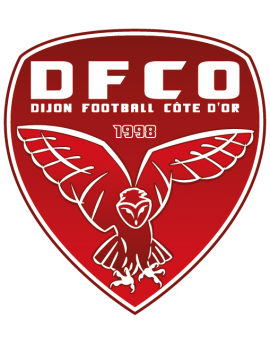 Stickers logo foot Dijon FCO