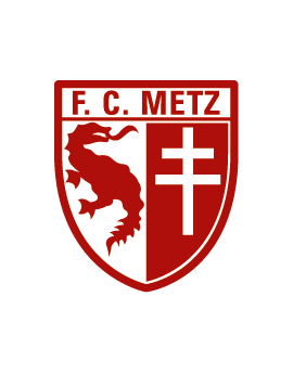 Stickers logo foot FC Metz