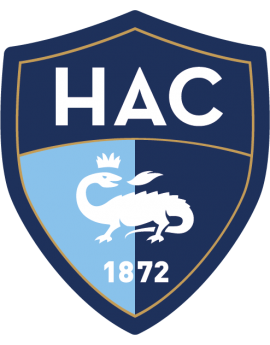 Stickers logo foot Le havre