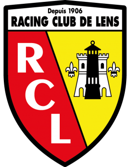 Stickers logo foot Racing club de lens