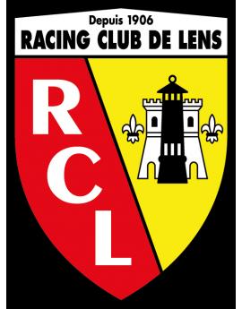 Stickers logo foot Racing club de lens