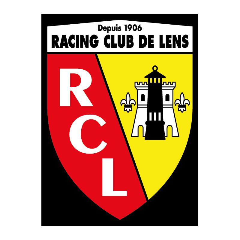 Stickers logo foot racing club de lens color stickers - Logo club foot bresil ...