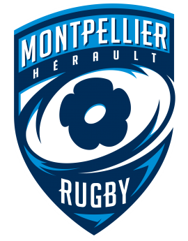 Stickers logo rugby Montpellier herault