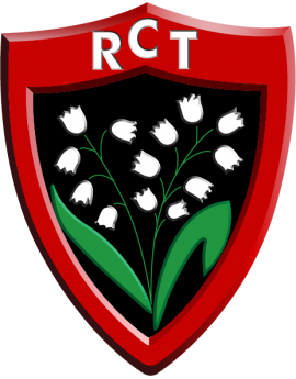 Stickers logo rugby RCT