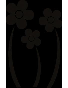 Stickers fleurs marguerite