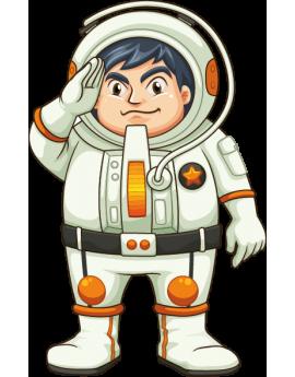 Stickers astronaute enfant