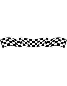 Stickers damier circuit