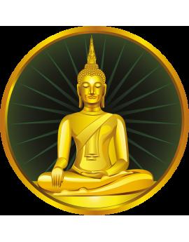 Stickers bouda zen