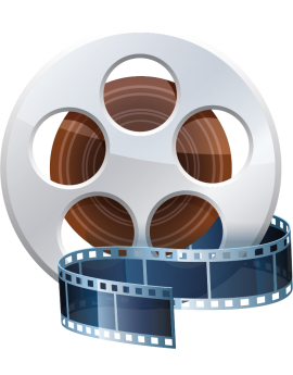 Stickers bobine cinéma