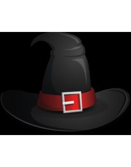 Stickers haloween chapeau de sorcière