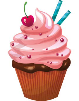 Stickers cupcake