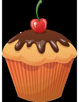 Stickers cupcake