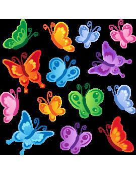 Stickers kit papillons enfant