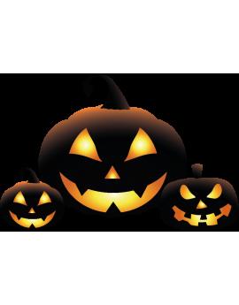 Stickers kit citrouille halloween