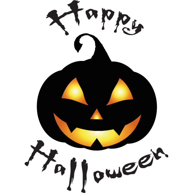stickers happy halloween citrouille color stickers. Black Bedroom Furniture Sets. Home Design Ideas