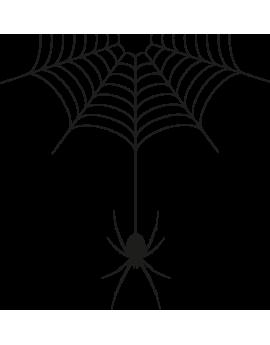 Stickers toile d'araignée halloween