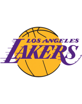 Stickers Lakers Basketball