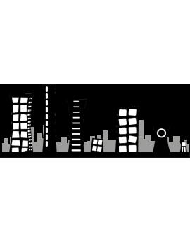 Stickers villes enfantin