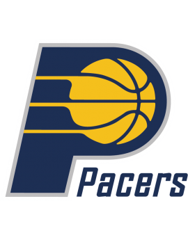 Stickers logo Indiana Pacers Basketball