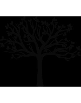 Stickers arbre feuilles