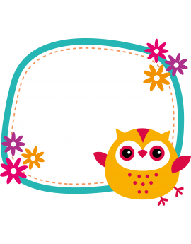 Stickers hibou velleda