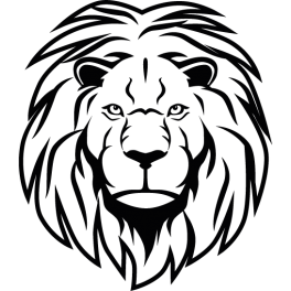 Stickers t te de lion color stickers - Tete de lion a dessiner ...