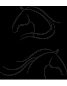 Stickers kit chevaux design moderne