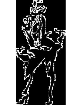 Stickers célébrité Marilyn Monroe