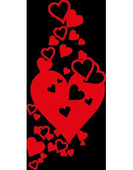 Stickers amour cœoeurs