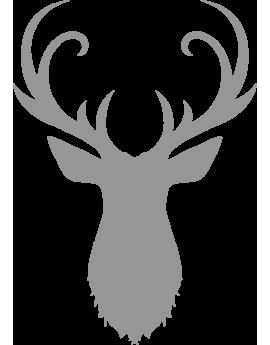 Stickers tête de renne du père noël