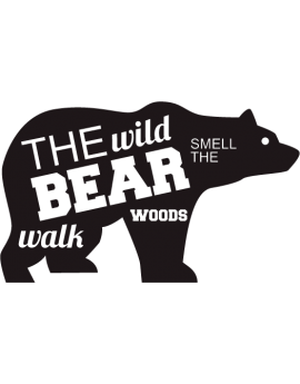 stickers ours The wild bear
