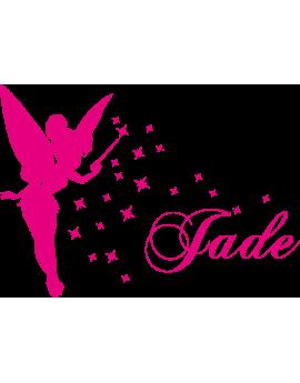 Stickers Fée prénom Jade
