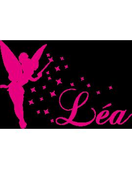 Stickers Fée prénom Léa