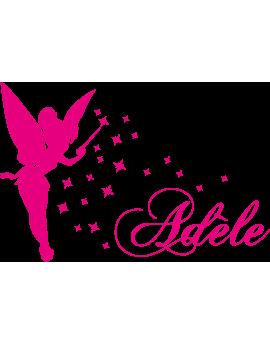Stickers Fée prénom Adèle