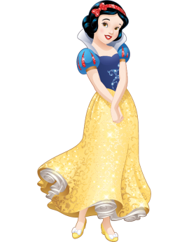 Stickers princesse Disney Blanche Neige