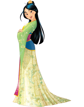 Stickers princesse disney Mulan