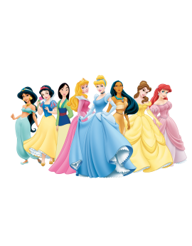 Stickers princesses Disney