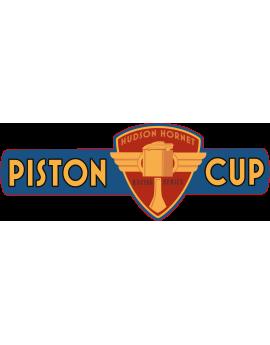 Stickers icône écusson piston cup cars