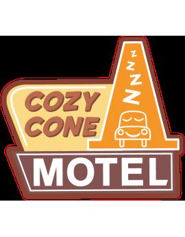 Stickers icône écusson cozy cone motel  cars