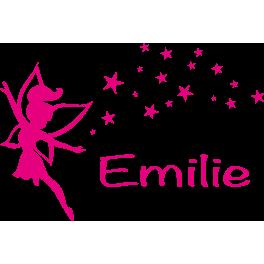 Stickers Fée avec étoiles Emilie