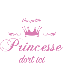 Stickers citation princesse