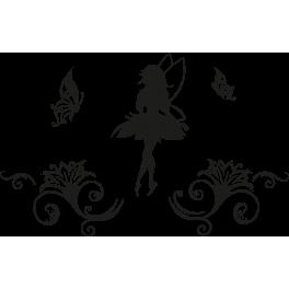 Stickers fée arabesque
