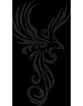 Stickers oiseau phénix tuning