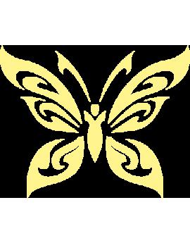 Stickers kit papillons phosphorescents
