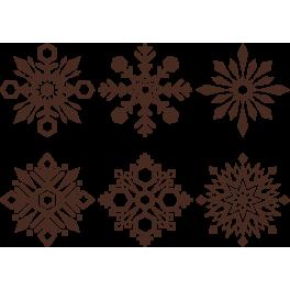 Stickers kits flocon de neige